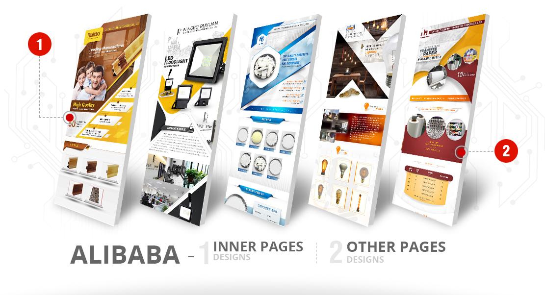 Alibaba Minisite Design Sialkot