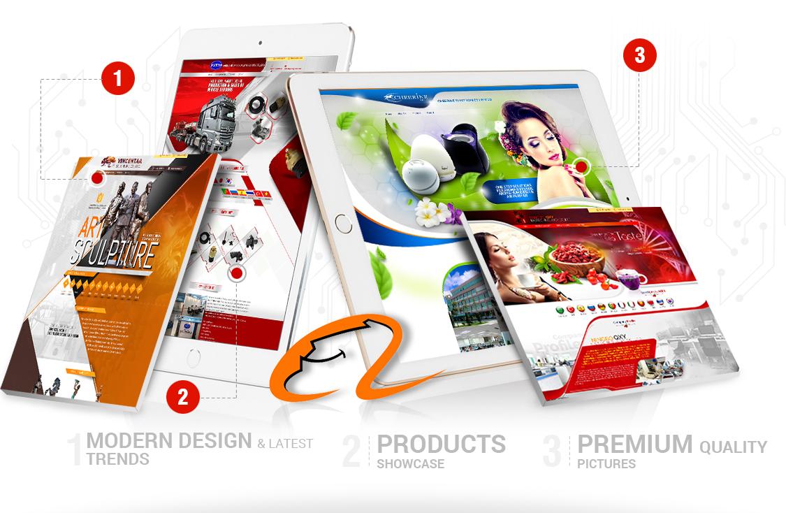 Alibaba Minisite Design Sialkot Pakistan